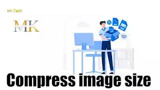 طربقة ضغط الصور (تصغير حجم) مع المحافظة على جودتها بدون برامج