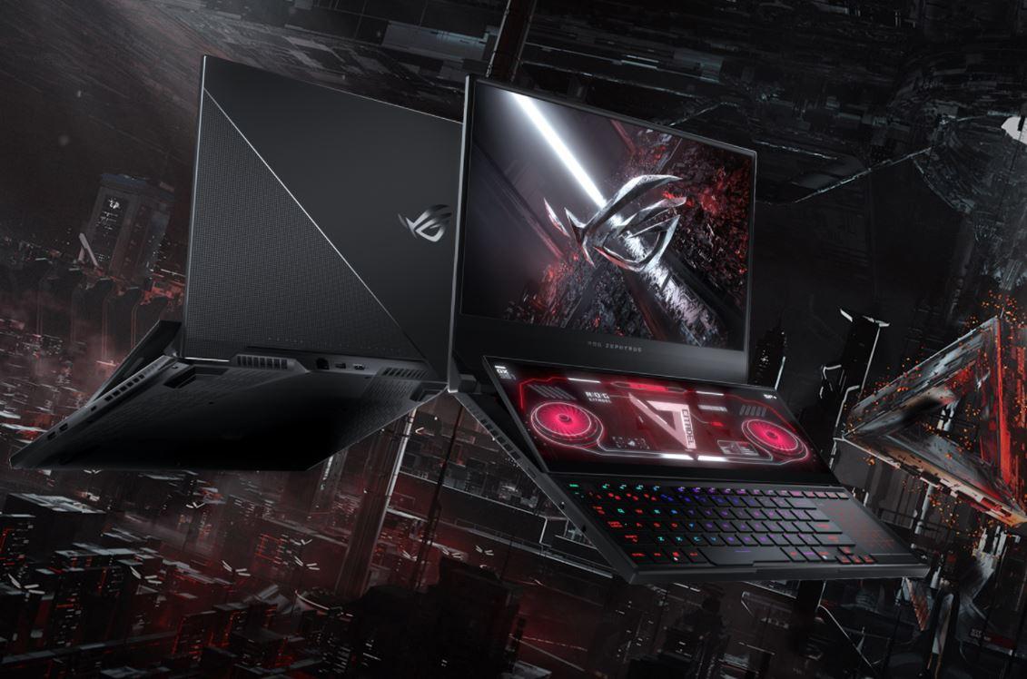 Asus ROG Zephyrus Duo 15 SE GX551QS R938E6T-O, Laptop Dual Screen Terkencang Bertenaga AMD Ryzen 9 5900HX