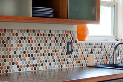 √ 40 Motif Keramik Dinding Dapur Minimalis Modern Yang Terbaru