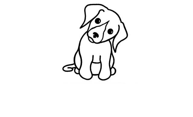 dibujos faciles perros para hacer