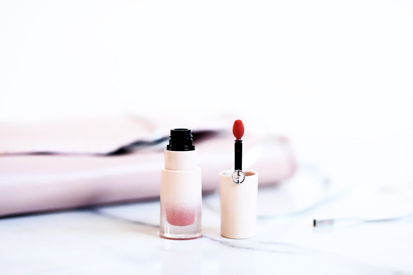 armani nude blush liquide avis test swatches