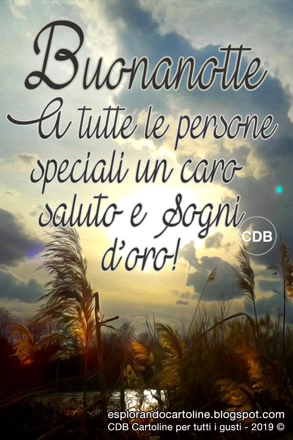 Cdb Cartoline Per Tutti I Gusti Cartolina Buonanotte A Tutte Le