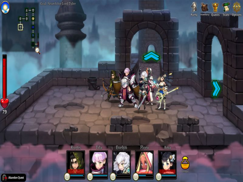 Download ARIA CHRONICLE NECROKNIGHT Free Full Game For PC