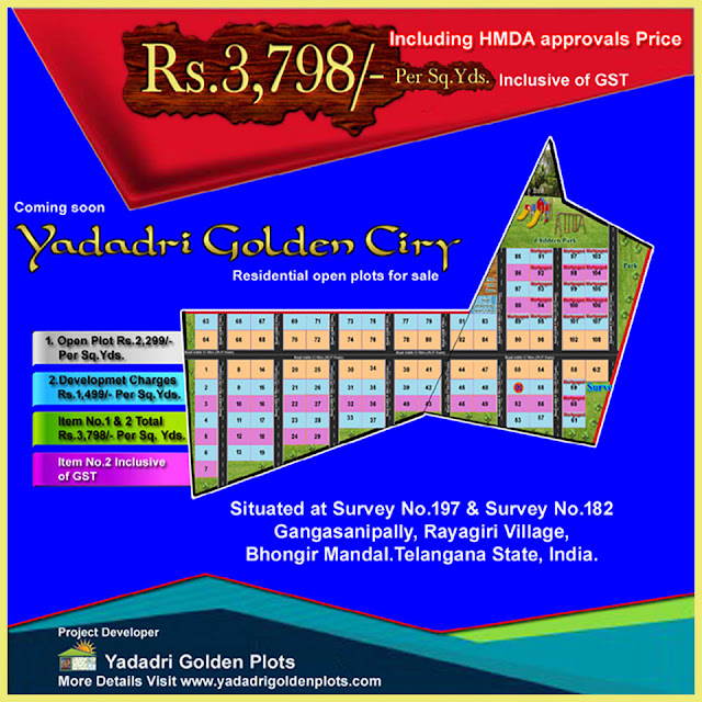 Coming soon yadadri golden city