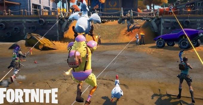 Fortnite – Como voar 20 metros usando uma galinha