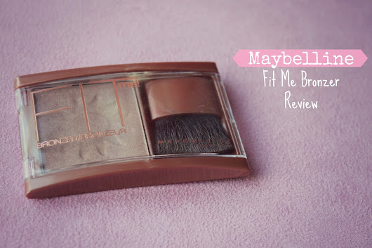Australian Beauty Review: Review of the Maybelline Fit Me Bronzer