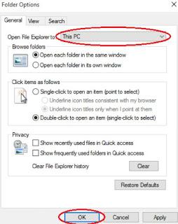 Cara Merubah Quick Access Menjadi This Pc Di File Explorer