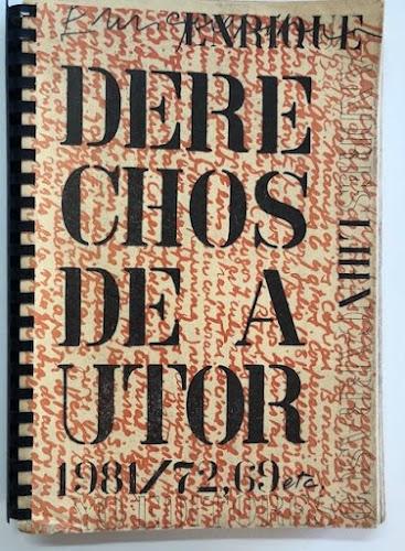 Derechos de autor de Enrique Lihn