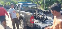 Seorang Warga Dihajar Massa, Motor Hangus Dibakar