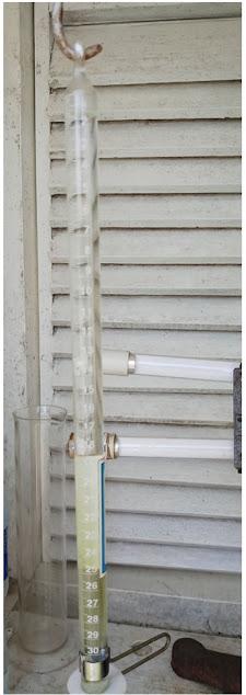 Piche Evaporimeter - Alat ukur penguapan