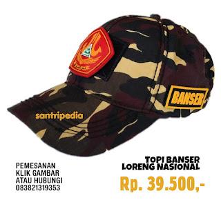 Topi Banser Rp. 39.500,-