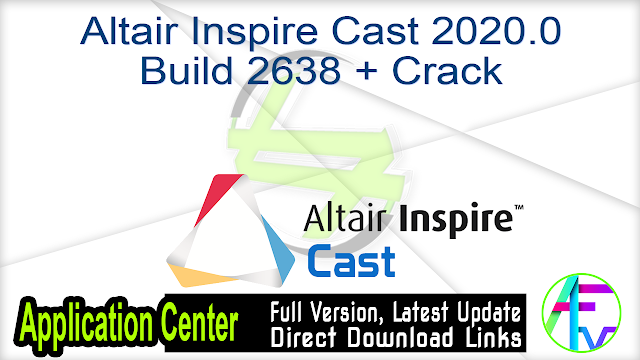 Altair Inspire Cast 2020.0 Build 2638 + Crack