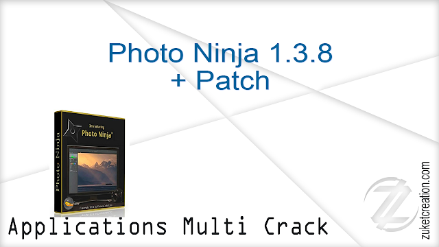 Photo Ninja 1.3.8 + Patch