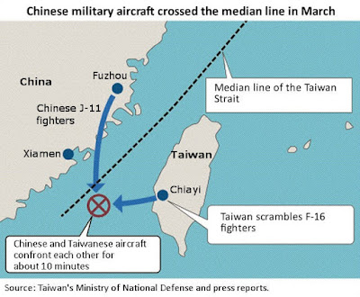 Taiwan reports large incursion by<a href='http://www.elethos.gr/search/label/China/'> China</a>'s air force