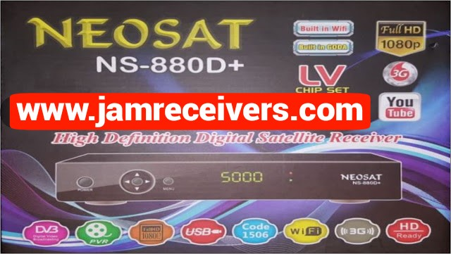 Neosat 880D+ Latest Software | Neosat 880D+ Cool Features Update 2020
