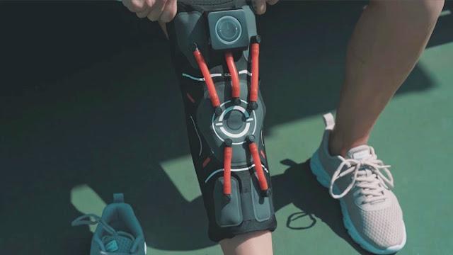Smart knee support