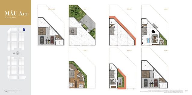 biệt thự shophouse shop villas Dự án Sunshine Residence Helios Ciputra Hà Nội