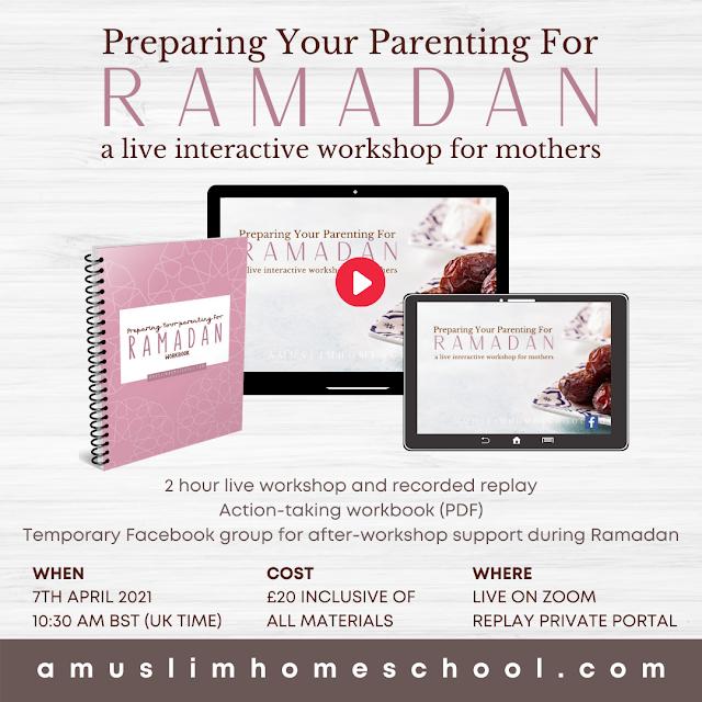 Parenting workshop for muslim mums
