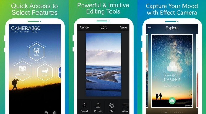 Camera 360 : Android App Free Download - Free Mobile Apps