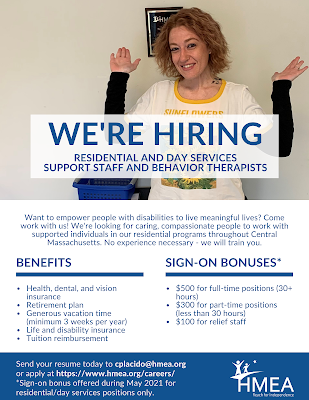 HMEA is hiring! Is that a position for you?