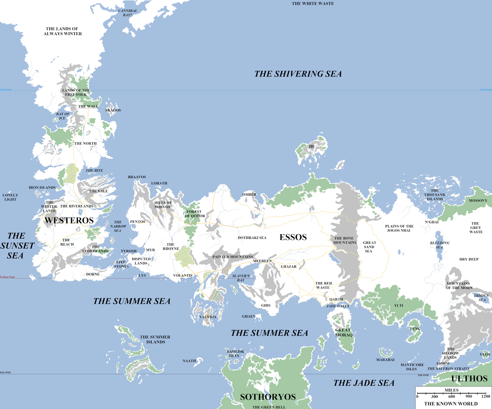 The Wertzone Atlas Of Ice And Fire Mapping George R R Martin S World