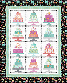 Quilt Inspiration Free Pattern Day Sweets Cupcakes Ice Cream