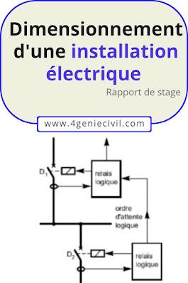 Dimensionnement de l'installation électrique