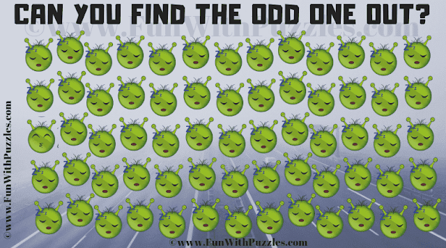 Can you find the Odd One Out in this Emoji Picture Brain Teaser?