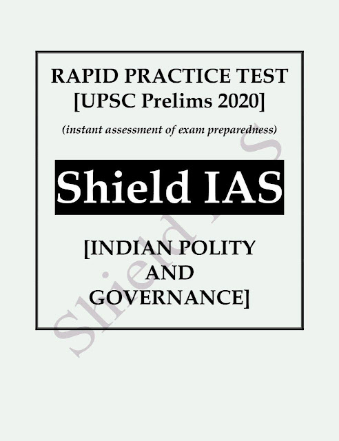 Rapid Pratice Test Indian Polity and Governance 2020 : For UPSC Exam PDF Book