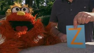 Murray Sesame Street sponsors letter Z, Sesame Street Episode 4325 Porridge Art season 43