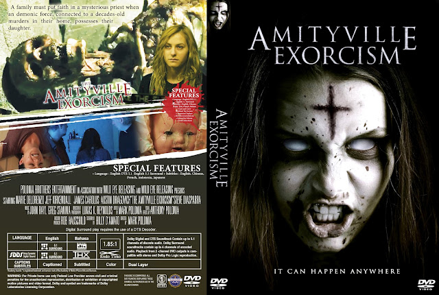 Amityville Exorcism DVD Cover