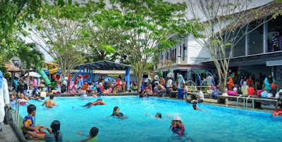 Kolam renang Pemancingan 100 janti cokro tulung klaten