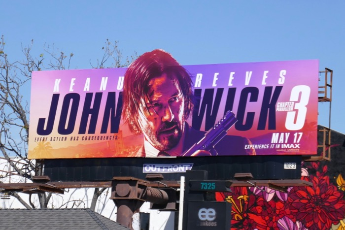John Wick Chapter 3 Parabellum extension billboard