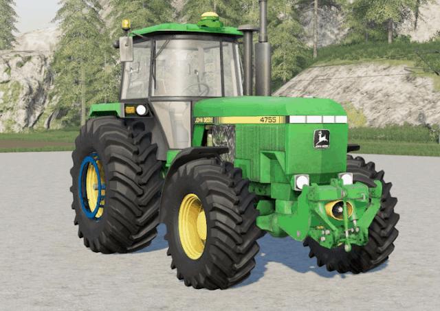 FS19 John Deere 4755〡movable front axle v1.0