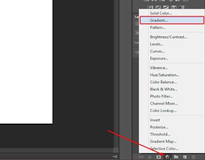 Cara Membuat Backgroud Gradasi (Shadow) di Photoshop 16
