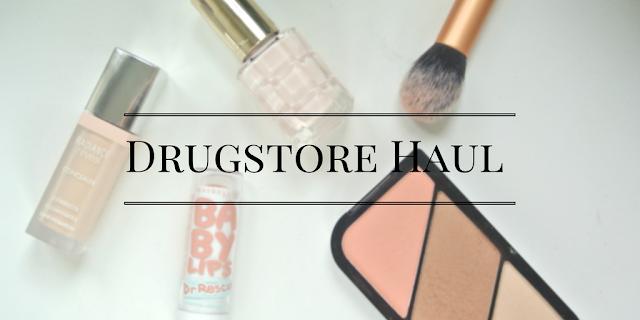 Collective Drugstore Haul 2016 Boots Borjouis Rimmel Maybelline Loreal Paris Nudes Concealer Contour Kit November 2016 afforadable makeup