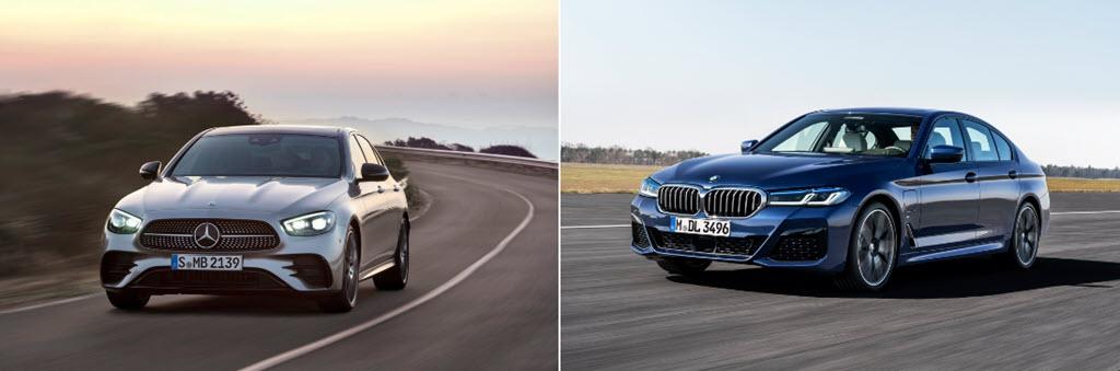 Mercedes-Benz E-Class và BMW 5-Series - cuộc chiến sedan hạng sang