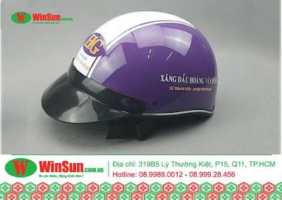 Địa chỉ chuyên sản xuất nón bảo hiểm chất lượng với giá ưu đãi