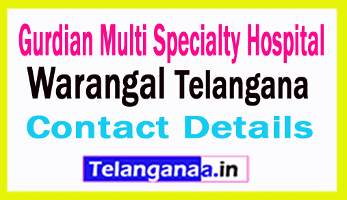 Gurdian Multi Specialty Hospital Warangal Telangana
