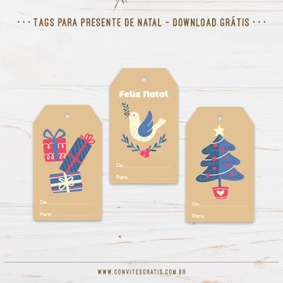 tag etiqueta presente natal gratis imprimir baixar