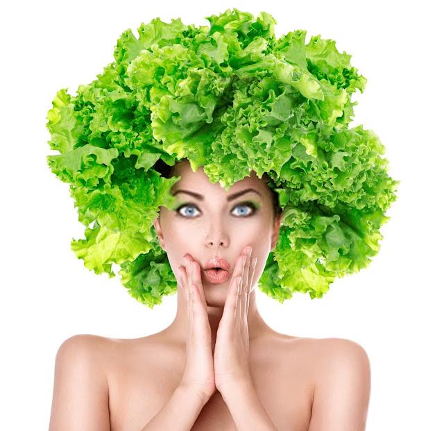 Lower back pain - back pain - salad leaves