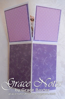 flower garden box card, closed. By Grace Baxter, gracenotes4today.blogspot.com