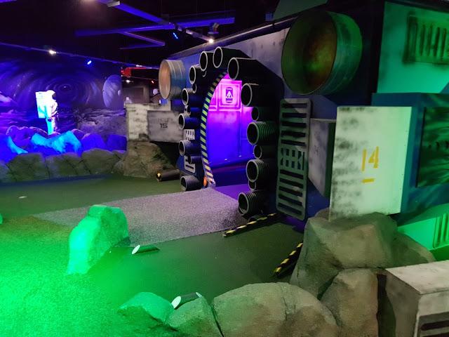 Galactic Golf in Halifax