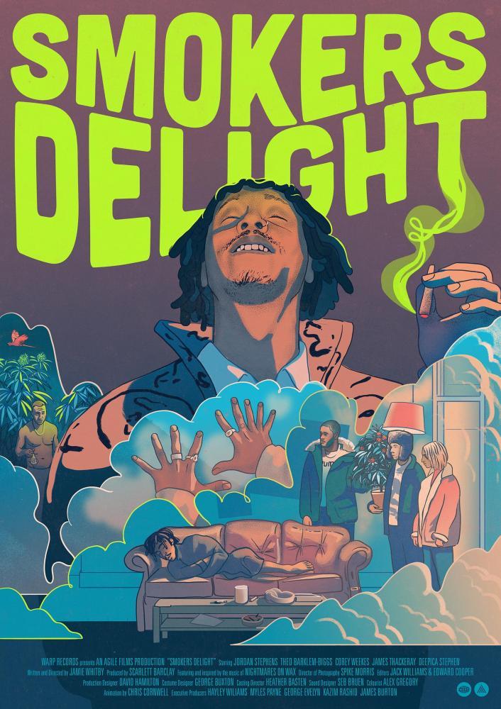 Nightmares On Wax • 'Smokers Delight' (The Film) | George Evelyns Traum verfilmt und musikalisch unterlegt