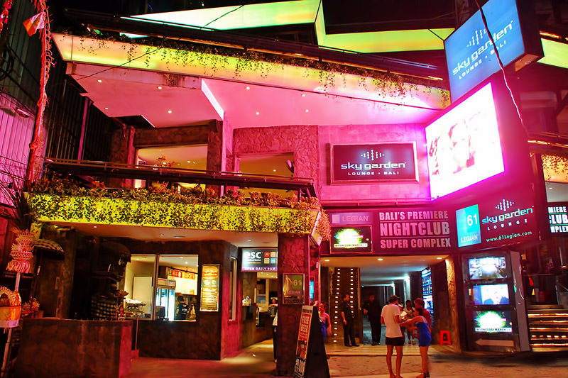 Отель Скай Гарден на Бали в Индонезии