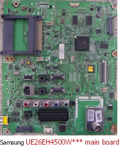 UE32ES5500, UE26EH4500 – Samsung LCD TV – firmware update