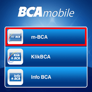 Menu m-BCA
