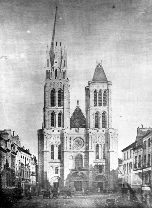 Saint Denis Gard: Ionarts: Basilica Of St. Denis To Have Its Tower Restored