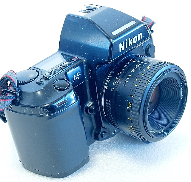 Nikon F-801s 35mm AF SLR Film Camera