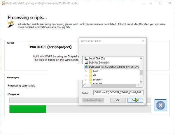 Tạo và cứu hộ Windows bằng Window PE mới nhất